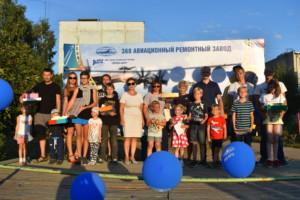 Праздник, посвященный Дню Военно-воздушных сил России