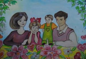 Внимание! Конкурс «Моя веселая семья»